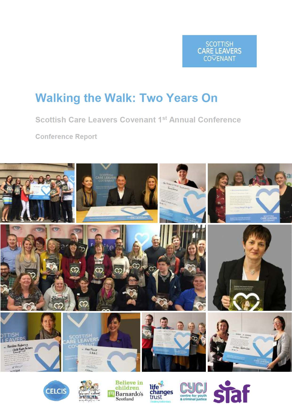 Scottish Care Leavers Covenant 1st Annual Conference Report