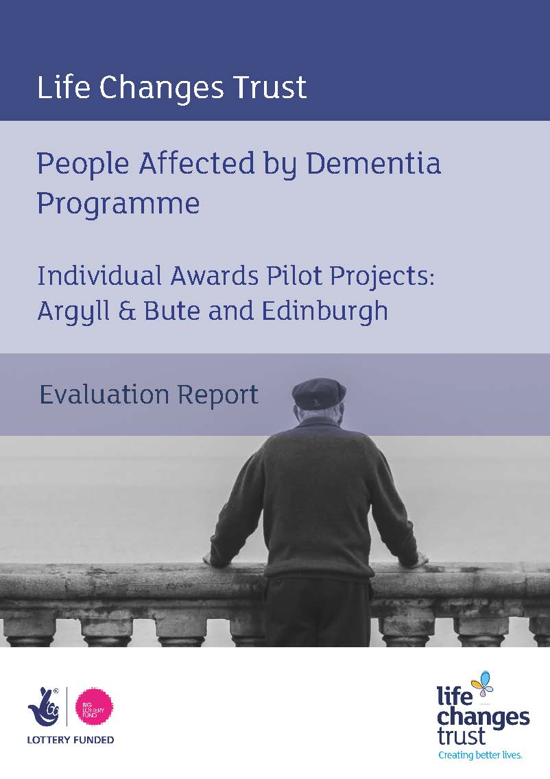 Individual Awards Pilot Project - People Affected by Dementia: Evaluation Report