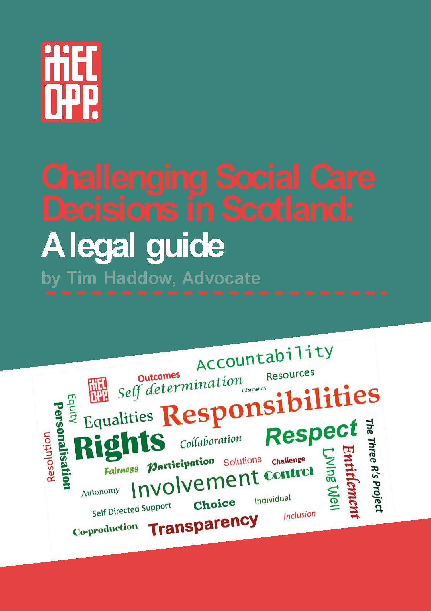 Challenging Social Care Decisions in Scotland:  A legal guide