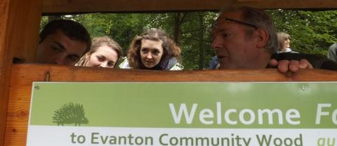 Evanton COmmunity wood
