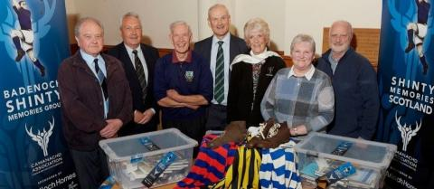 Badenoch Shinty Memories Group launch