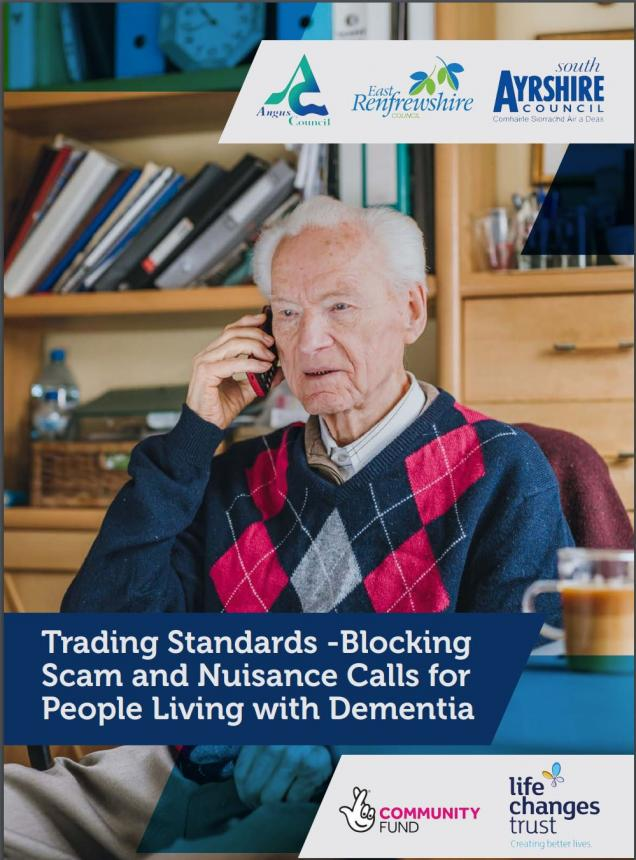 Trading Standards - Blocking Scam and Nuisance Calls for People Living with Dementia