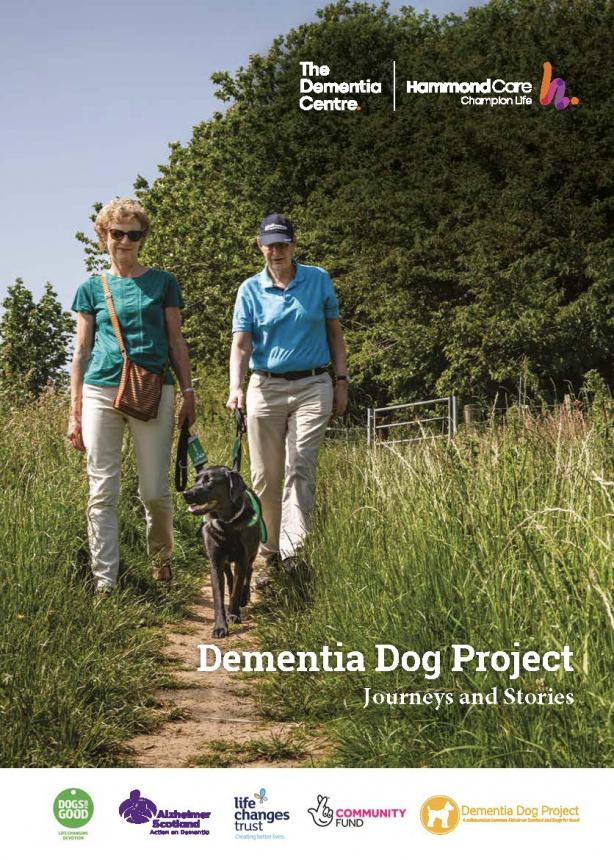 Dementia Assistance Dog report cover journeys and stories