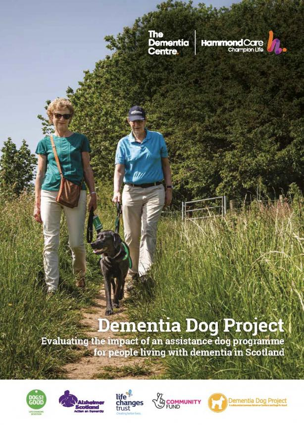 Dementia Assistance Dog report cover