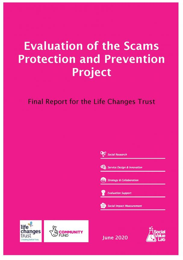 Scams Protection and Prevention Project: Evaluation Report