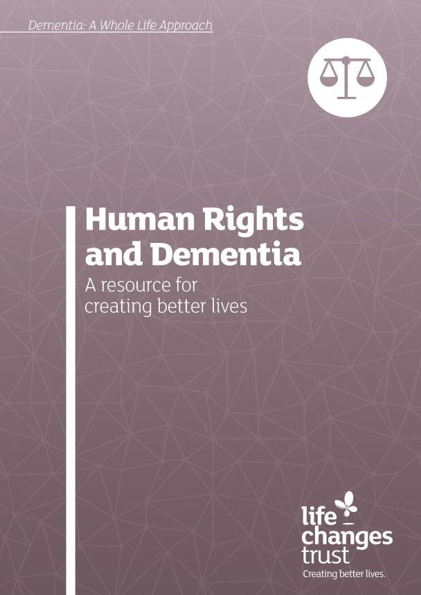 Human rights and dementia cover