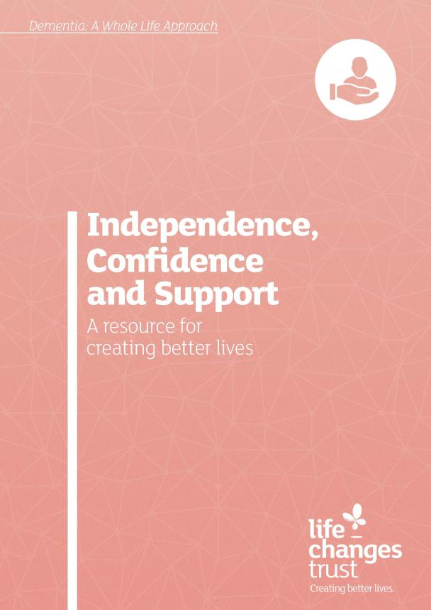 Independence, confidence and support cover